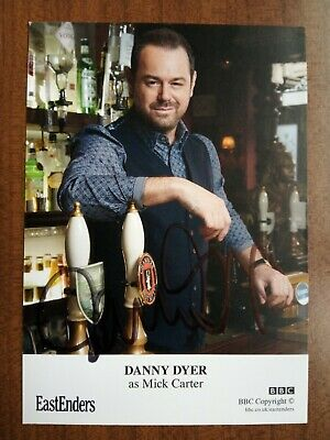 £19.99 • Buy DANNY DYER *Mick Carter* EASTENDERS HAND SIGNED AUTOGRAPH CAST CARD FREE POST