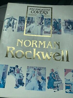 $ CDN25.18 • Buy Vintage Norman Rockwell 332 Magazine Covers Coffee Table Book