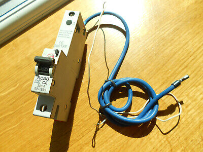 £9 • Buy Wylex C6 6amp 30ma RCBO Used
