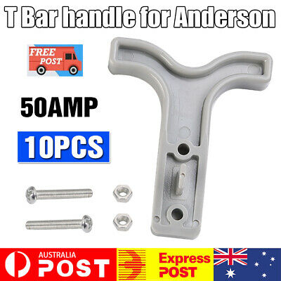AU10.95 • Buy 10PCS Grey T Bar Handle For Anderson Style Plug Connectors Tool 50AMP 12-24V