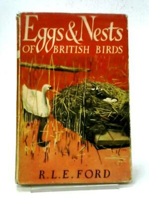 £12.40 • Buy Eggs And Nests Of British Birds (Richard L. E. Ford - 1950) (ID:22679)