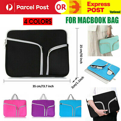 AU16.47 • Buy Laptop Sleeve Case Carry Bag For Macbook Pro/Air Dell Sony HP 11 12 13 14 15inch