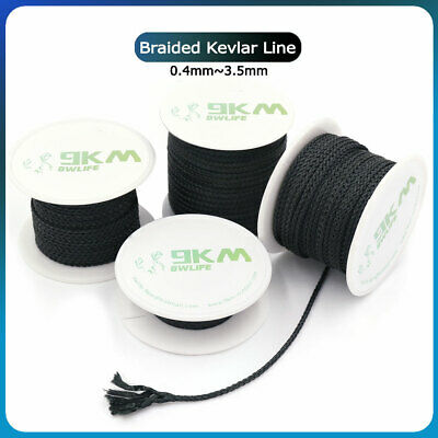 AU9.99 • Buy Braided Kevlar Fishing Assist Line Kite Tactical Survival Rope Made With Kevlar