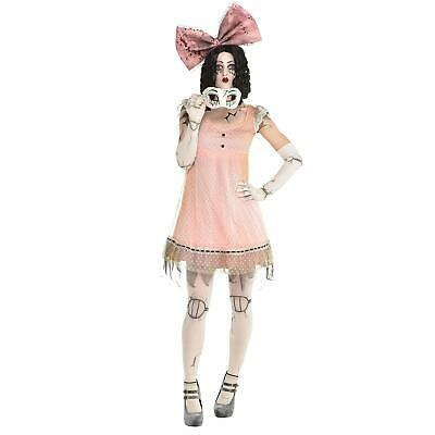 £35.05 • Buy Adult Doll Costume Womens Halloween Fancy Dress Ladies Outfit