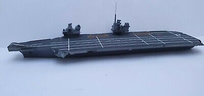 £55 • Buy HMS Queen Elizabeth Aircraft Carrier 1/600 Ship Kit With F35.