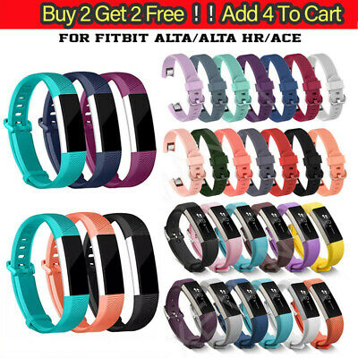 AU6.58 • Buy UK Replacement Silicone Wrist Band Straps For Fitbit Alta / Fitbit Alta HR ACE