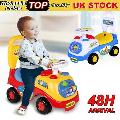 £13.98 • Buy My First Ride On Kids Toy Car Boys Girls Push Along Toddlers Infants Walker Uk