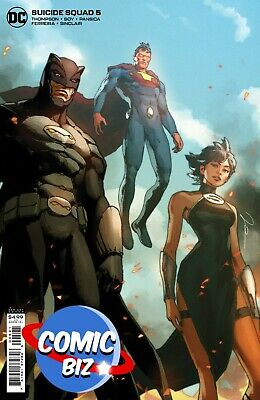 £4.25 • Buy Suicide Squad #5 (2021) 1st Printing Cardstock Parel Variant Cover Dc Comics