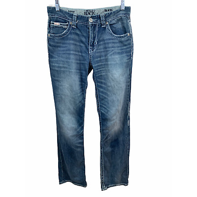 $34.99 • Buy Buckle Black Mens 9 Fit Distressed Blue Jeans Size 32 X 36