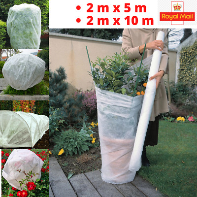 £9.10 • Buy 2Mx10M GARDEN FLEECE PLANT PROTECTION WHITE HORTICULTURAL COVER FROST HEAVY DUTY