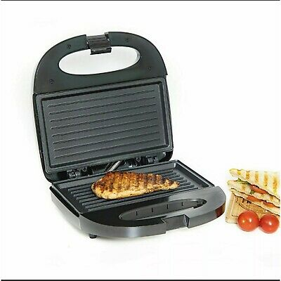 £19.79 • Buy Panini Press Healthy Grill Non-Stick Powerful Toaster Toast Sandwich Maker 750W