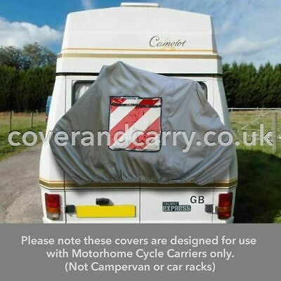 £29.99 • Buy Motorhome Bike Rack Cover For 1-2 Cycles This Cover Is Produced In Grey Nylon
