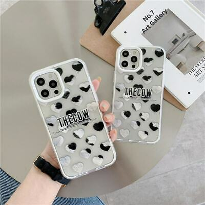 AU7.84 • Buy Case For IPhone 7/8+ 11 12 Pro Max XS XR 3 In 1 Clear Heart Soft+PC Phone Cover