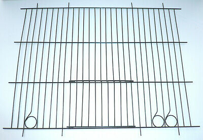 £52.50 • Buy 10 X Prime-weld Black Canary Cage Fronts 14x12 Box Of 10