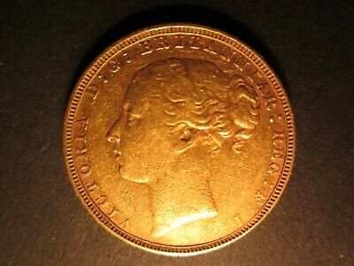 £425 • Buy Full Gold Sovereign 1880 Queen Victoria, Young Head, Good Condition.