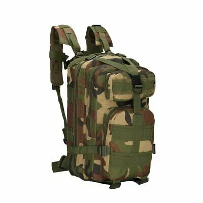 $19.99 • Buy Military Molle Camping Backpack Outdoor Hiking Travel Tactical Bag 28L 7 Colors