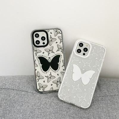 AU7.91 • Buy 3 In 1 Butterfly Clear Soft Phone Cover Case For IPhone 7 8 11 12 Pro Max XS XR