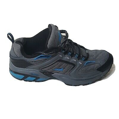£25.16 • Buy AVIA 6028 Men's Running Shoes Gray Black Blue Lace Up Size 11 Wide