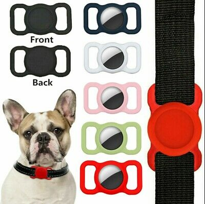 £2.49 • Buy Pet Case Silicone Apple Airtag Air Tag Tracker Protective Cover Dog Cat Collar