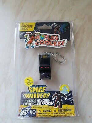 £13.79 • Buy Miniature Worlds Smallest Coolest Space Invaders Arcade Machine New Keychain