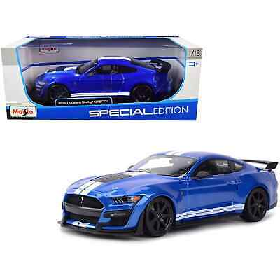 $37.52 • Buy Maisto Mustang Shelby GT500 2020 1:18 Scale Diecast Model Car