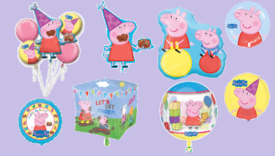 £4.99 • Buy Peppa Pig George Foil Balloons! KIDS BIRTHDAY PARTY BEST QUALITY!!! Girl Boy
