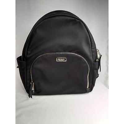 $ CDN176.24 • Buy Kate Spade Dawn Large Backpack Bag Black Nylon Pre-owned In Excellent Condition