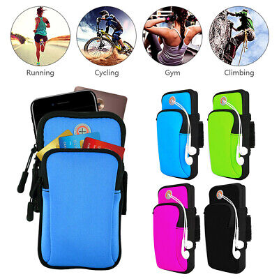 AU13.99 • Buy Sports Armband Gym Arm Band Pouch Holder Bag Case For IPhone XS Max Samsung S10