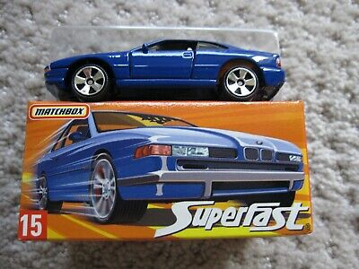 $12.99 • Buy Matchbox BMW 850i #15 From 2005 Superfast Autobahn 5 Pack