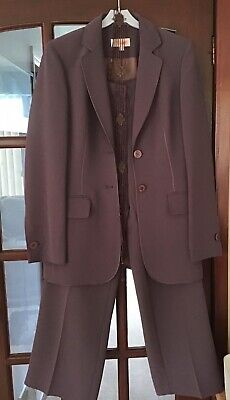 £17 • Buy Ladies Jacket And Trouser Suit. M&S Size 8 Standard.Worn Once For Wedding.