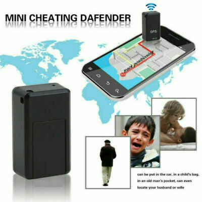 £5.99 • Buy Magnetic Mini GPS Tracker Car Kids GSM GPRS Real Time Tracking Locator Device UK