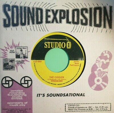 £29.95 • Buy Studio One .you Cannot Know.the Cooler The Wrigglers .vinyl