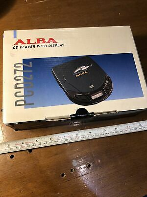 £8.99 • Buy Alba Personal CD Player - Model PCD272  - Boxed Opened BA