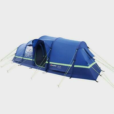 £935 • Buy New Berghaus Air 6 Inflatable Tunnel Design 6 Person Family Tent