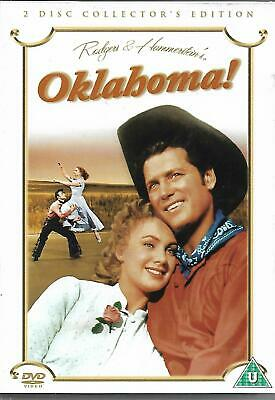 £2.60 • Buy Oklahoma Collector's Edition DVD Rodgers & Hammerstein Musical 2 Disc Set
