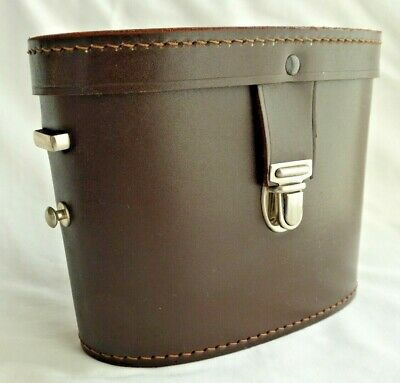 £29.90 • Buy Hilkinson Cowhide Leather Binocular Case Made In England 30mm New Spares Stock D