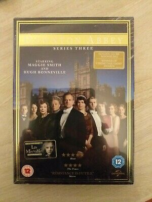 £4.99 • Buy Downtown Abbey Dvd Series 3 Dvd Box Set New And Sealed