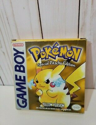 $349.99 • Buy Pokemon Yellow Version Special Pikachu Edition Gameboy - Complete In Box