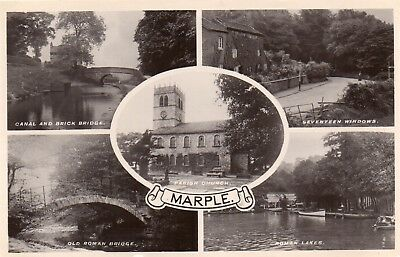 £2.65 • Buy  Marple Cheshire Rp Postcard By Grenville Series Posted 1930