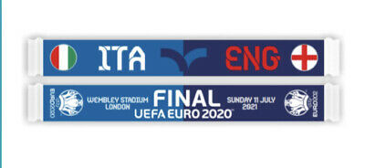 £35 • Buy Italy V England Euro 2020 FINAL 11th July *Official* Friendship Scarf Wembley