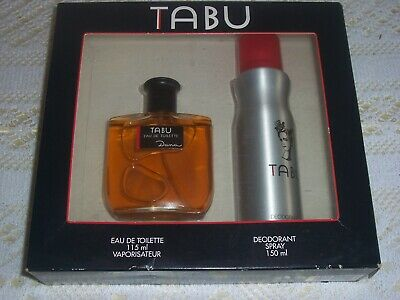 £10.50 • Buy Vintage TABU By Dana Eau De Toilette And  Spray Gift Box Never Used 99p No Res