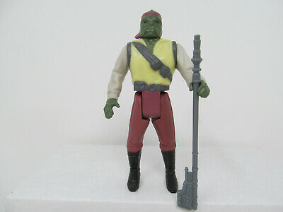 $ CDN53.92 • Buy Barada Reproduction Stan Solo Action Figure W/ Weapon. Vintage-style Star Wars