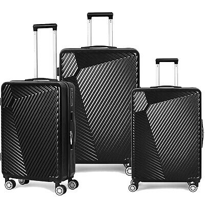 """View Details 20""""24""""28"""" ABS PC Hard Shell Cabin Carry-on Luggage Tag Travelling Bags Suitcases • 87.78$"""