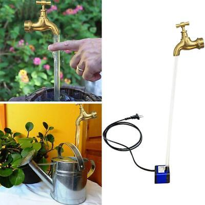 £8.18 • Buy The Impossible Floating Tap Water Feature Large 23 Cm Golden Free Shipping