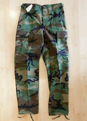 $35 • Buy NWT Woodland Camo BDU Pants Small Regular Trousers Army Military