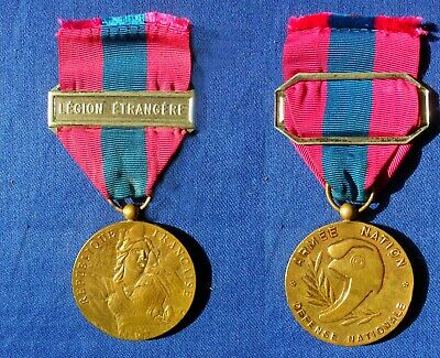 £35 • Buy French Foreign Legion  National Defence 'Gold' Medal