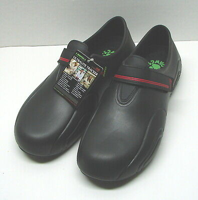 $44.95 • Buy DAWGS Ultralite Trackers Black Work Shoes Medical Hospitality Men Size 12 / 46
