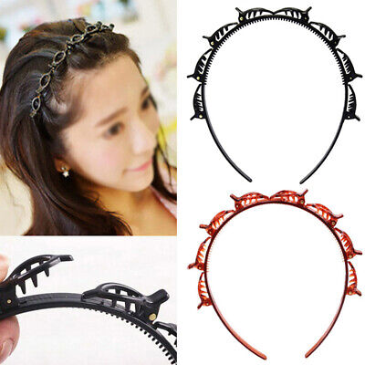 AU6.93 • Buy 1/2PCS Double Bangs Hairstyle Hairpin Hair Accessories Popular Headband Clips