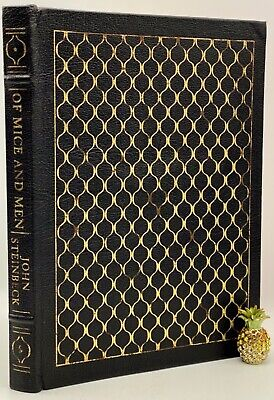 £19.63 • Buy Easton Press OF MICE AND MEN John Steinbeck Collectors LIMITED Edition LEATHER