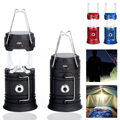 AU24.99 • Buy USB LED Lantern Rechargeable Tent Light Camping Emergency Outdoor Hiking Lamp